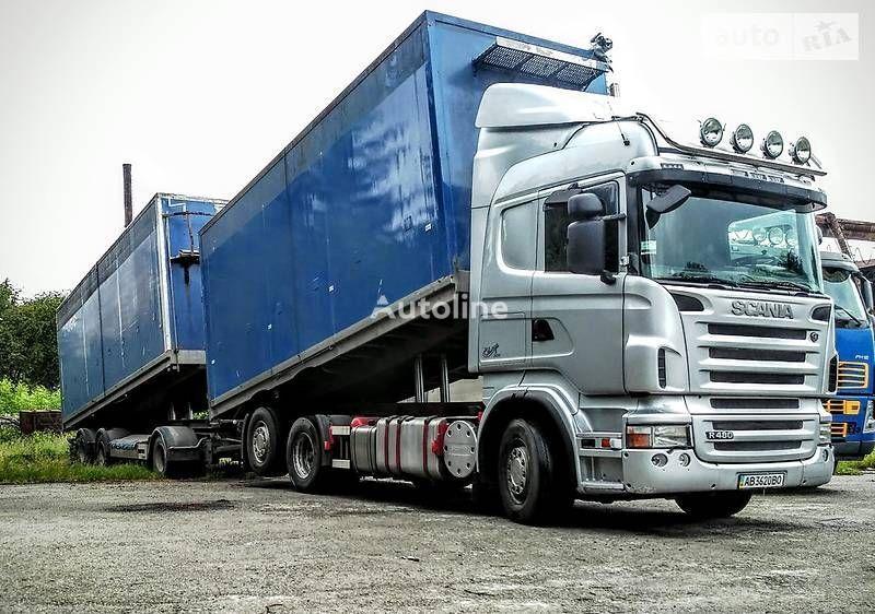 savivartis sunkvežimis SCANIA R480