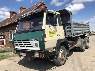 savivartis sunkvežimis STEYR 1491 Kipper Full Stell
