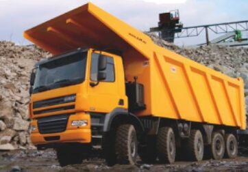 savivartis sunkvežimis DAF GINAF