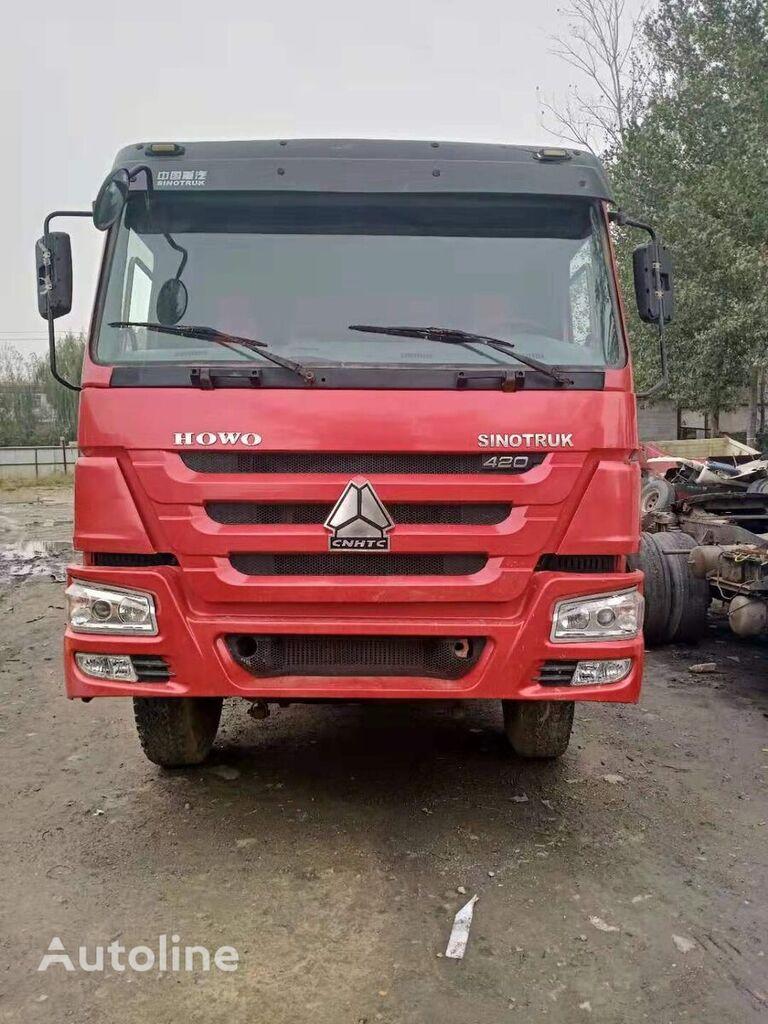 savivartis sunkvežimis HOWO 375HP SINOTRUCK 6*4