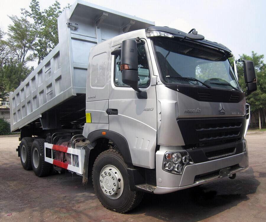 naujas savivartis sunkvežimis HOWO A7