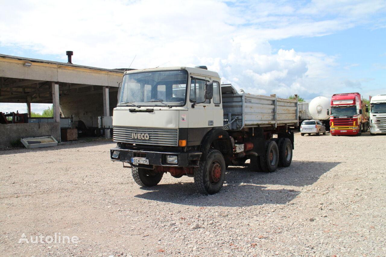 savivartis sunkvežimis IVECO Magirus 260 - 25, 6x6