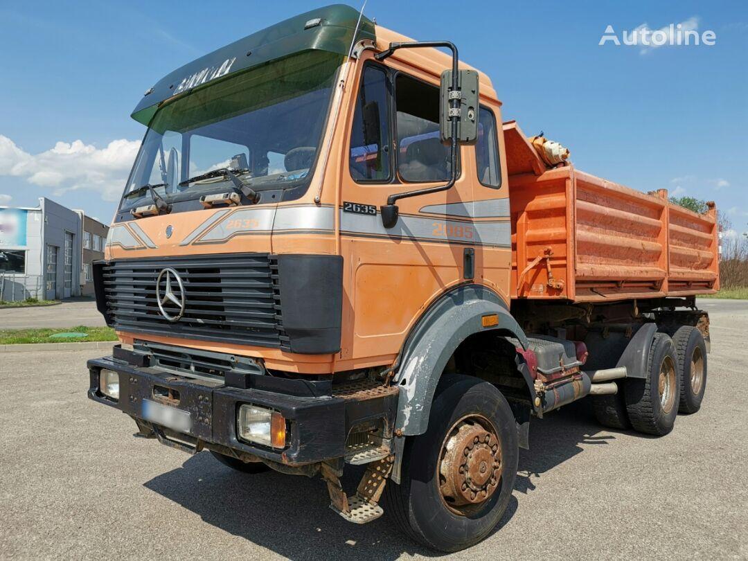 savivartis sunkvežimis MERCEDES-BENZ 2635