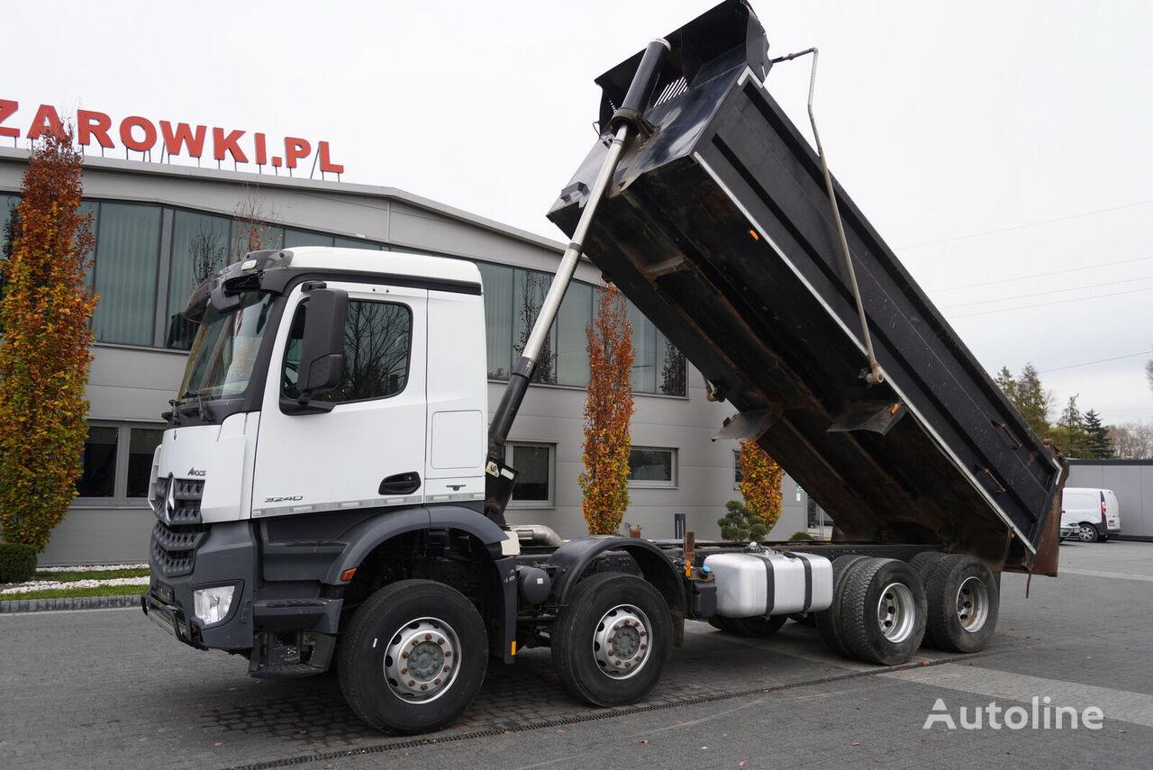 savivartis sunkvežimis MERCEDES-BENZ Arocs 3240 , E6 , 8x4 , tipper 20m3 , retarder , ClassicSpace