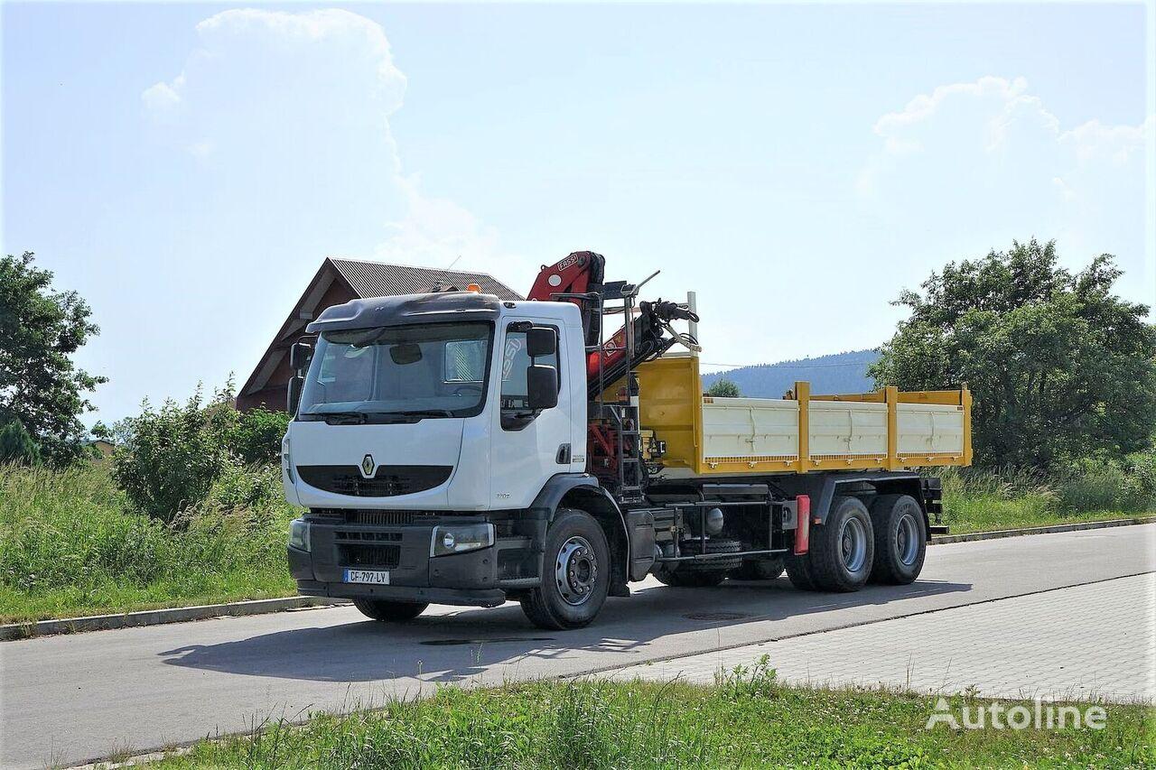 savivartis sunkvežimis RENAULT Premium 320 DXI Wywrotka 6,20m+HDS 6x4