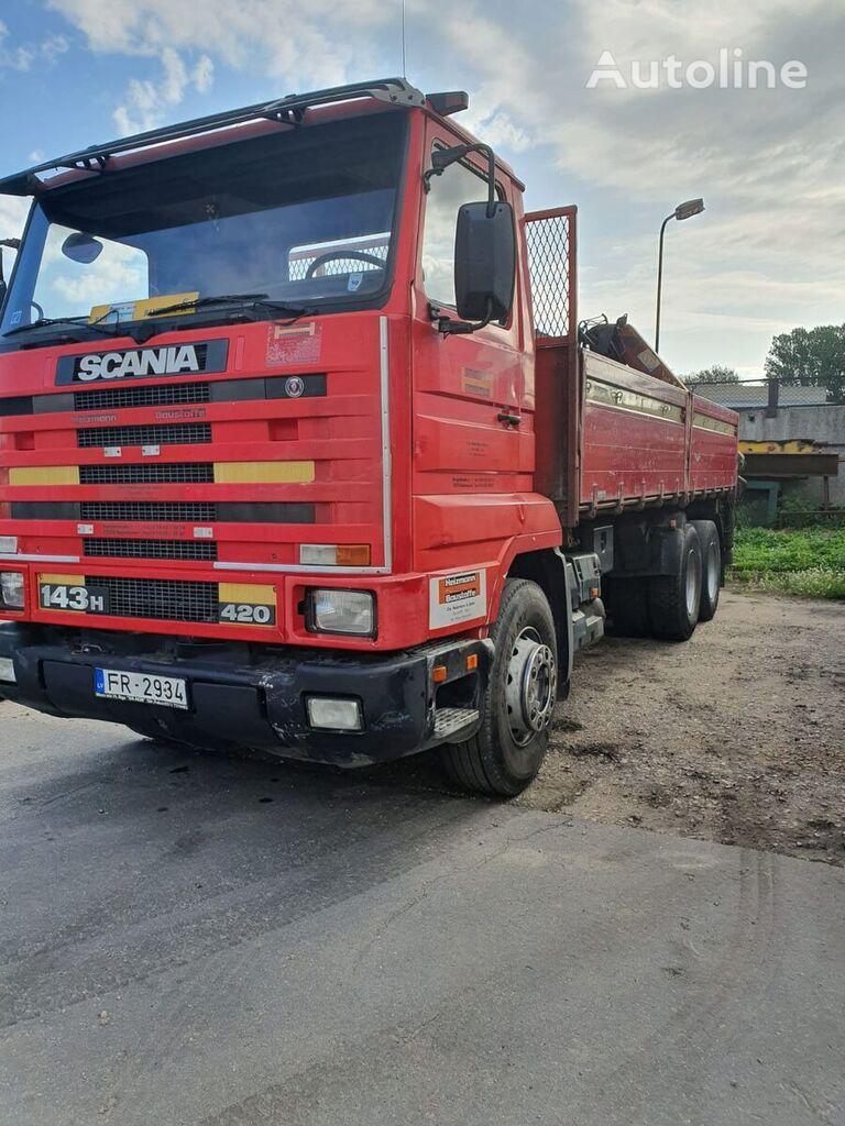 savivartis sunkvežimis SCANIA 143 H  420