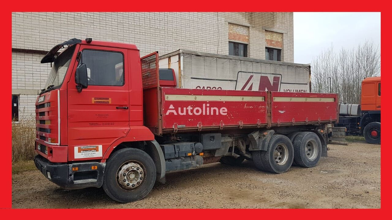 savivartis sunkvežimis SCANIA 143 H  420 Kiper
