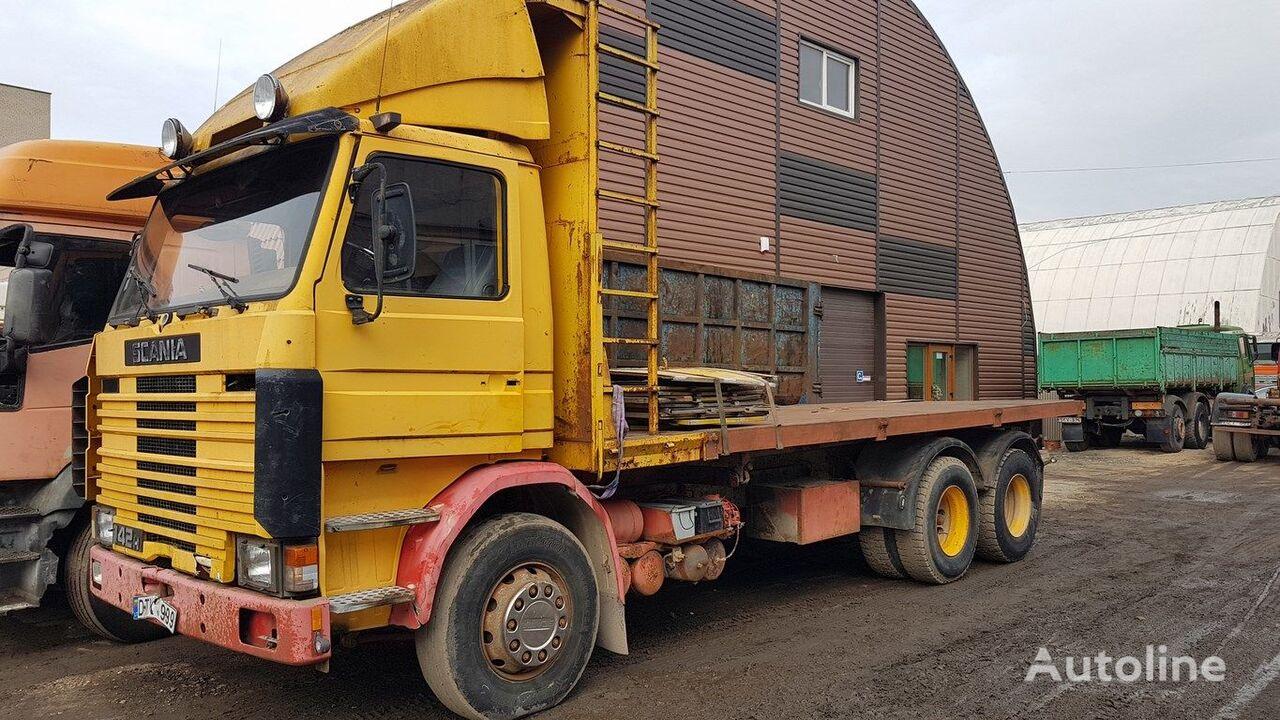 savivartis sunkvežimis SCANIA R 142 H kiper
