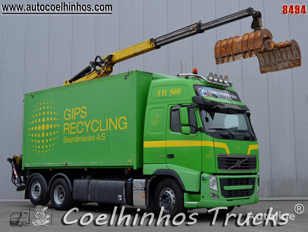 savivartis sunkvežimis VOLVO FH 500
