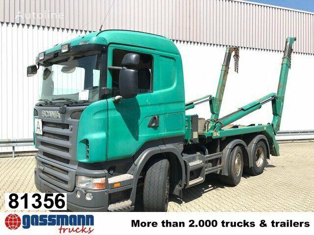 skip-loader sunkvežimis SCANIA R420
