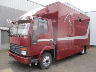 sunkvežimis furgonas FORD Cargo 0811 , Belgium Horse Truck