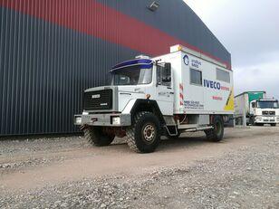 sunkvežimis furgonas IVECO Magirus 120E16 4x4 Expedition truck