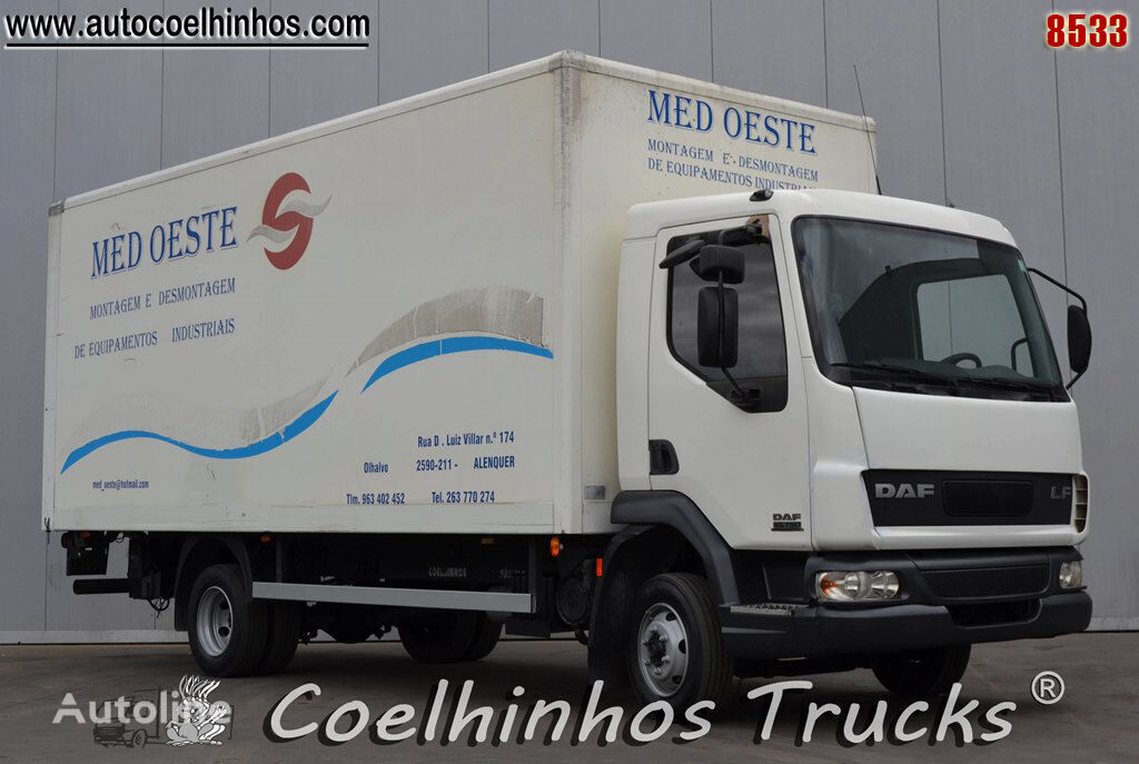 sunkvežimis furgonas DAF 45LF 150