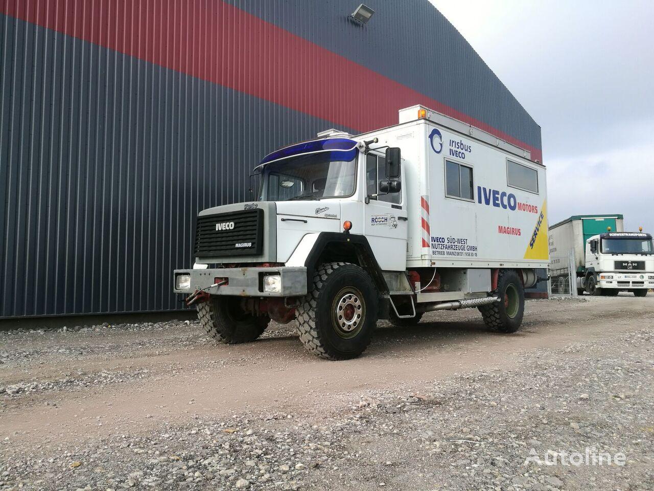 sunkvežimis furgonas IVECO 120E16 4x4 Expedition truck