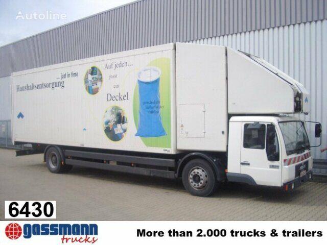 sunkvežimis furgonas MAN L89 18.224 mit Schubboden und Förderband