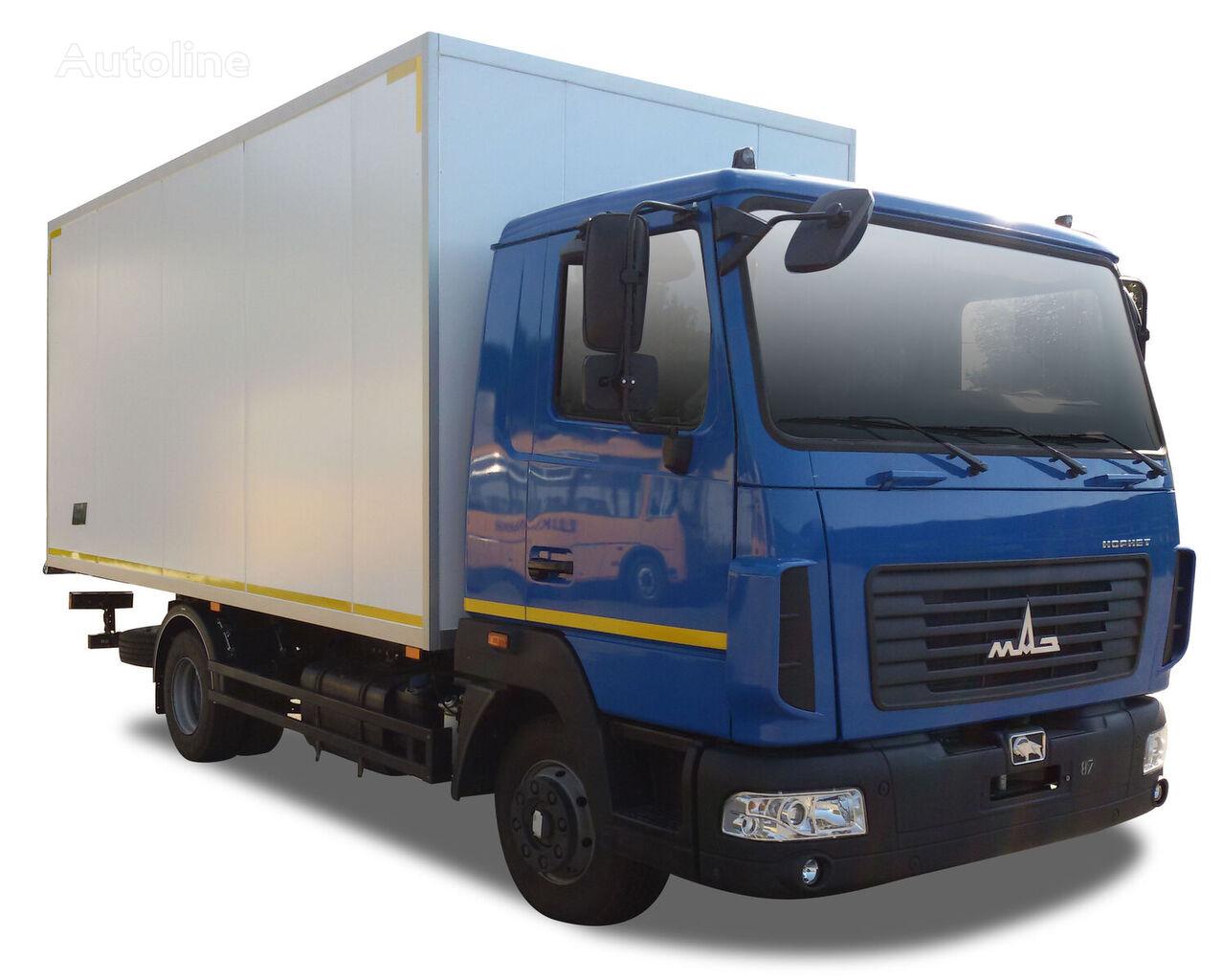 naujas sunkvežimis furgonas MAZ