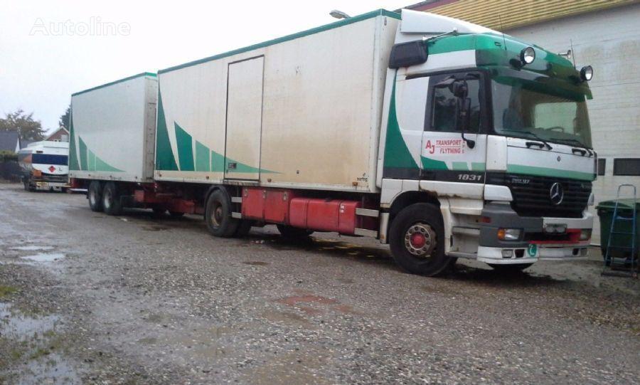 sunkvežimis furgonas MERCEDES-BENZ 1831 Actros box