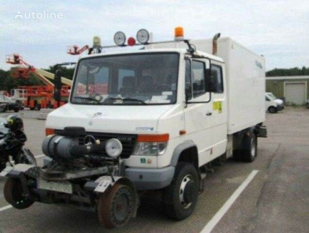 sunkvežimis furgonas MERCEDES-BENZ 4x4 VARIO Schörling RAIL Two Way SchienenSERVICE