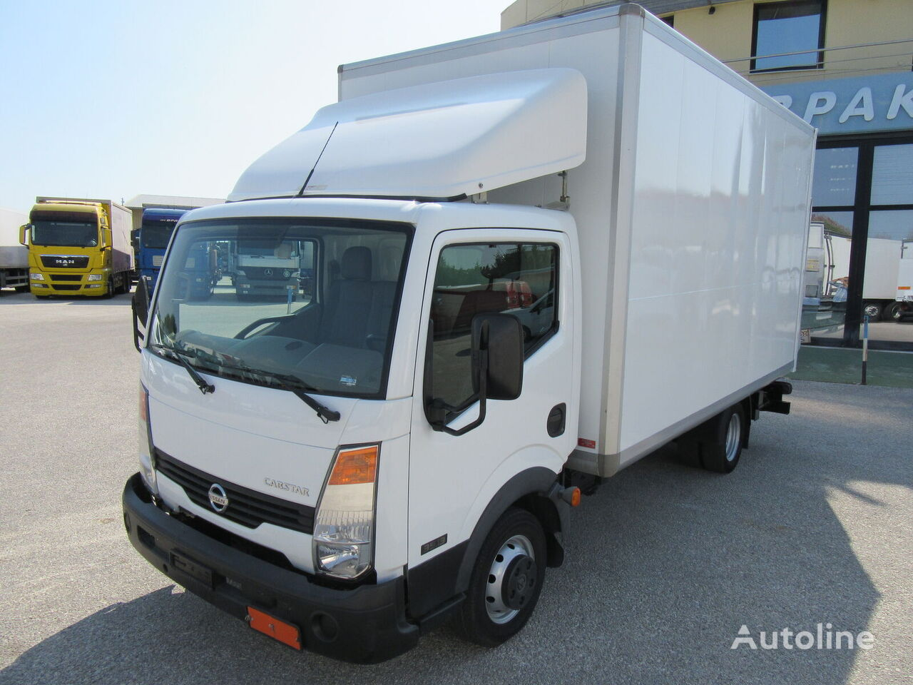 sunkvežimis furgonas NISSAN CABSTAR F24