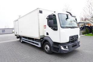 sunkvežimis furgonas RENAULT D12 , E6 , 4x2 , Box 18 EPAL side door  , tail lift Dhollandia