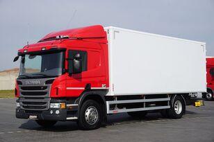 sunkvežimis furgonas SCANIA P 250  / E 6 / KONTENER / 17 PALET / ŁAD. 9166 KG / MAŁY PRZEBIE