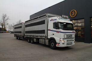 sunkvežimis paukščiams vežti VOLVO FH12.480 6x4 + furgonas priekaba