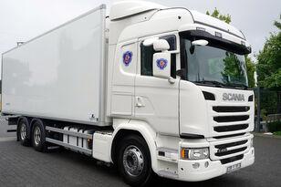 sunkvežimis šaldytuvas SCANIA G490, Meat hooks , 19 EPAL