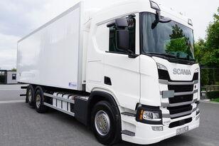 sunkvežimis šaldytuvas SCANIA SCANIA R500, Euro 6, 6x2, 19 EPAL refrigerator , lifting axle, N