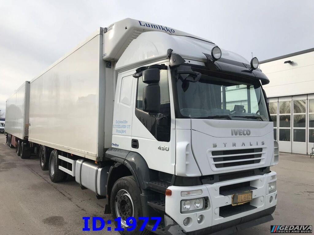 sunkvežimis šaldytuvas IVECO Stralis 450 Refrigerator 6x2