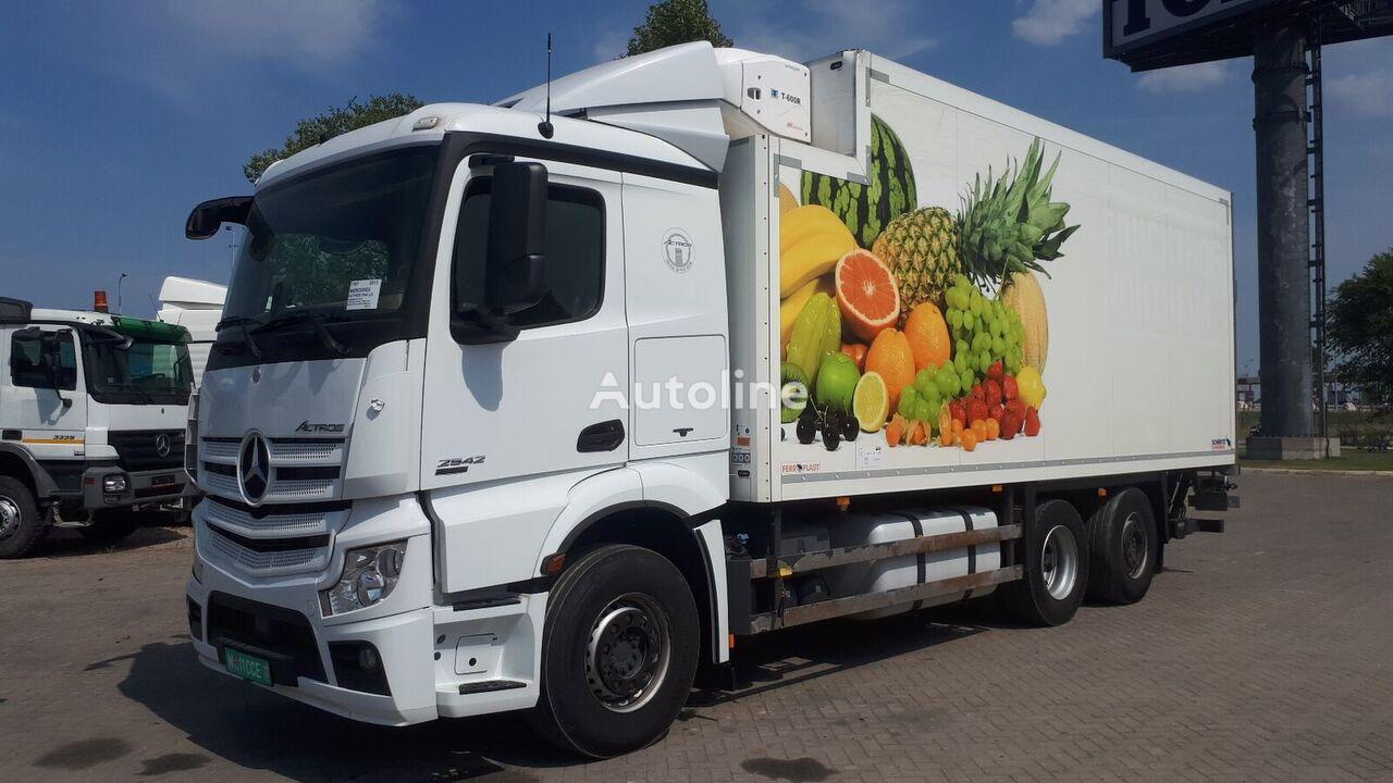 sunkvežimis šaldytuvas MERCEDES-BENZ ACTROS 2542 German brief