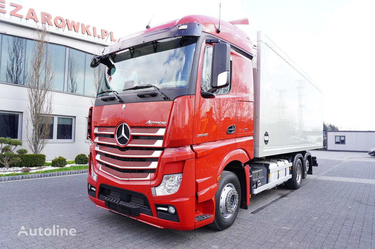 sunkvežimis šaldytuvas MERCEDES-BENZ Actros 2545 , E6 , 6x2 , 18 EPAL , retarder , lift axle , Stream