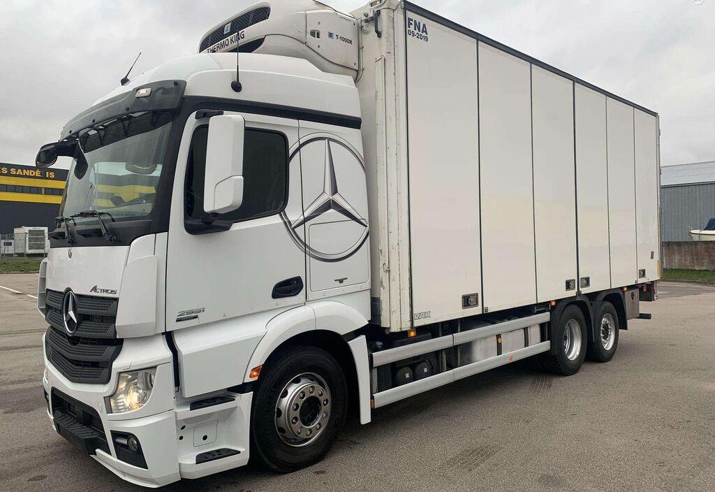 sunkvežimis šaldytuvas MERCEDES-BENZ Actros 2551L Thermoking T-1000R