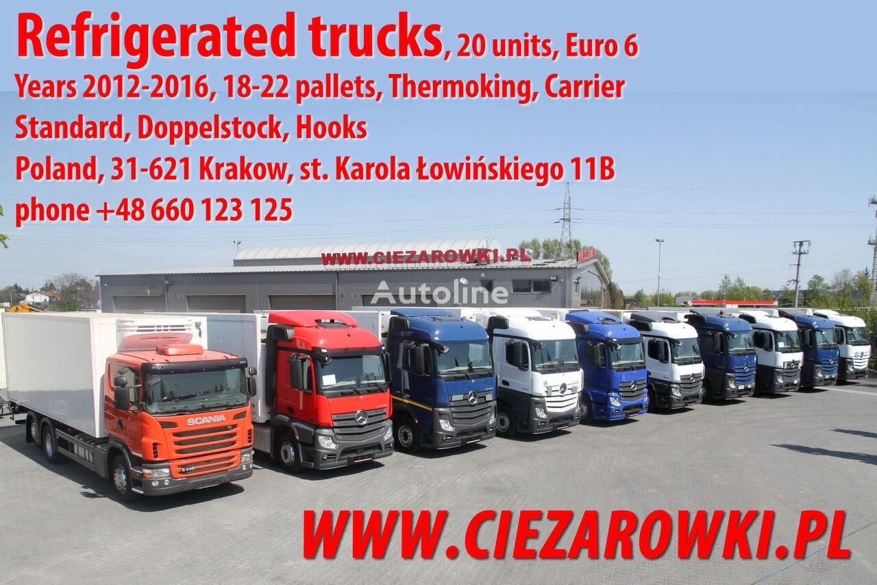 naujas sunkvežimis šaldytuvas MERCEDES-BENZ SCANIA ACTROS 2540 2542 2543 2545 G 440 REFRIGERATOR LIKE NEW!