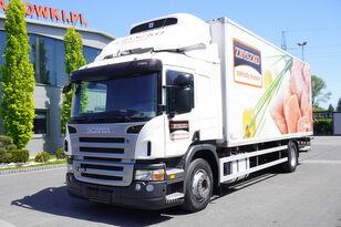 sunkvežimis šaldytuvas SCANIA P 280 , E5 , Meat hooks , 18 EPAL , tail lift 1500 kg