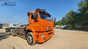 sunkvežimis su keliamuoju kabliu MULTILIFT Камаз 658667