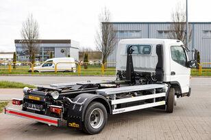 naujas sunkvežimis su keliamuoju kabliu Mitsubishi Fuso 9C18 AMT + KING HZ6R Hooklift