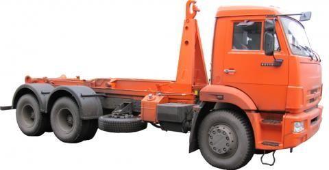 naujas sunkvežimis su keliamuoju kabliu KAMAZ KO-452-13