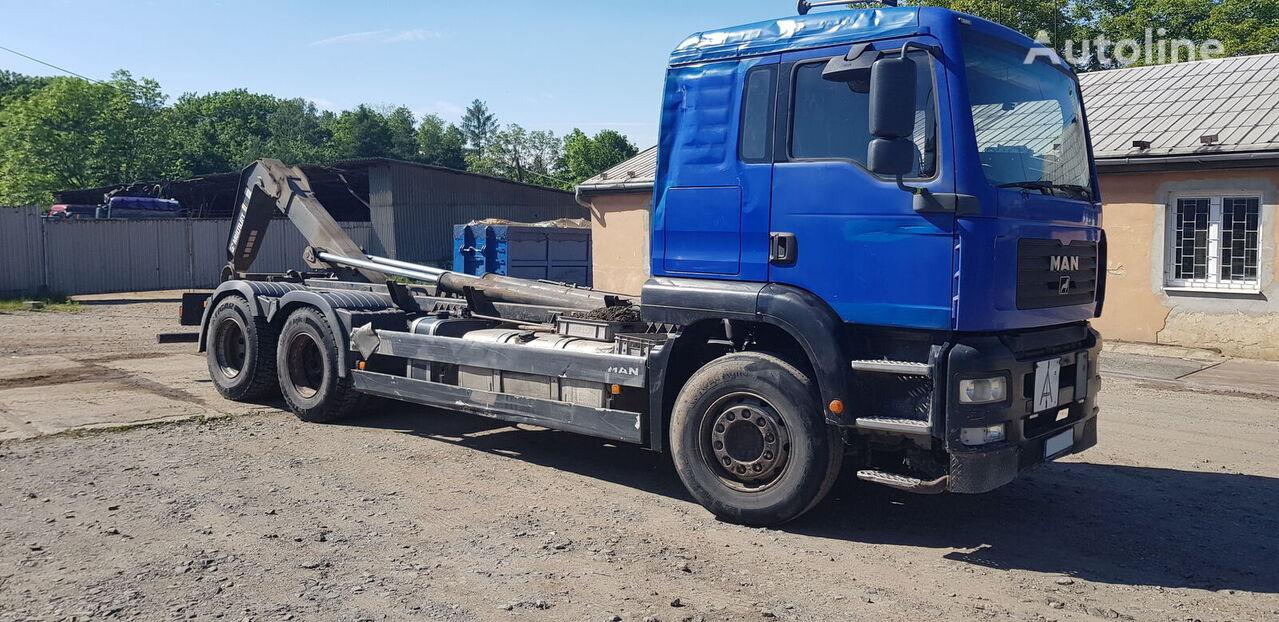 sunkvežimis su keliamuoju kabliu MAN TGA 26.430