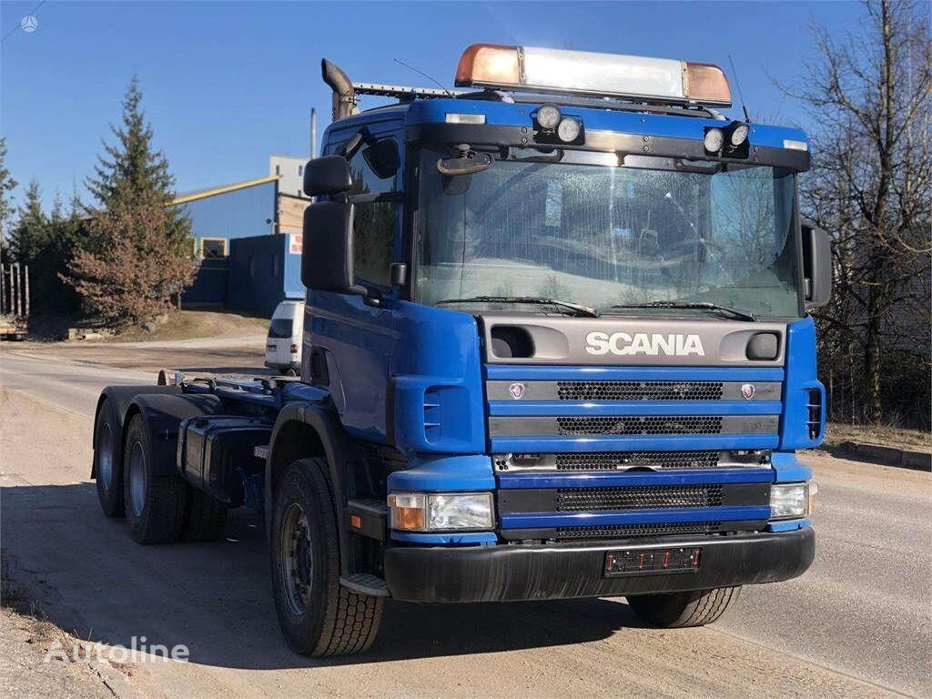 sunkvežimis su keliamuoju kabliu SCANIA 124