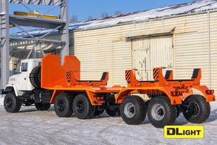 naujas sunkvežimis vamzdžiams vežti KRAZ 6322-05