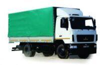 naujas tentinis sunkvežimis MAZ 534026