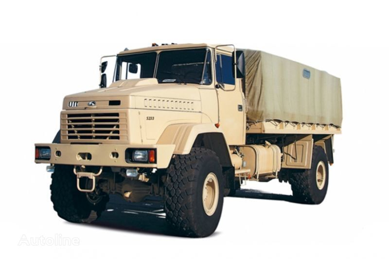 naujas tentinis sunkvežimis KRAZ 5233VE
