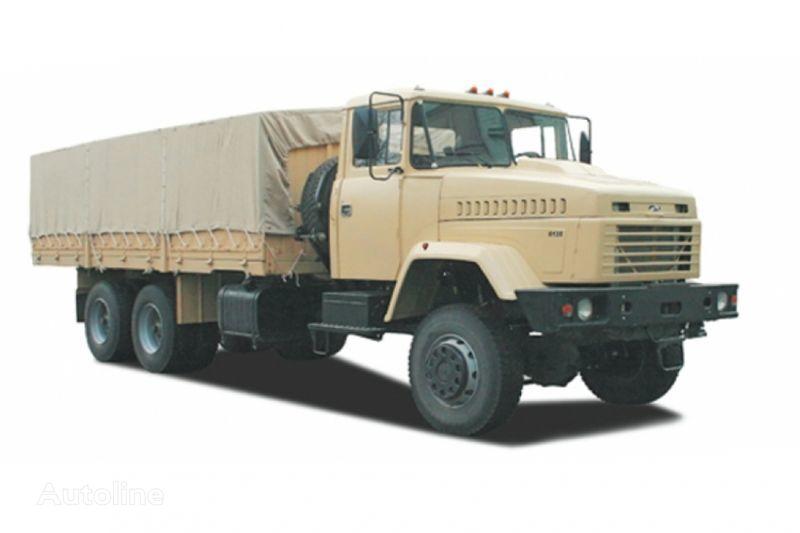 naujas tentinis sunkvežimis KRAZ 6135V6
