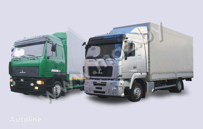 naujas tentinis sunkvežimis MAZ 5340 (19, E9)