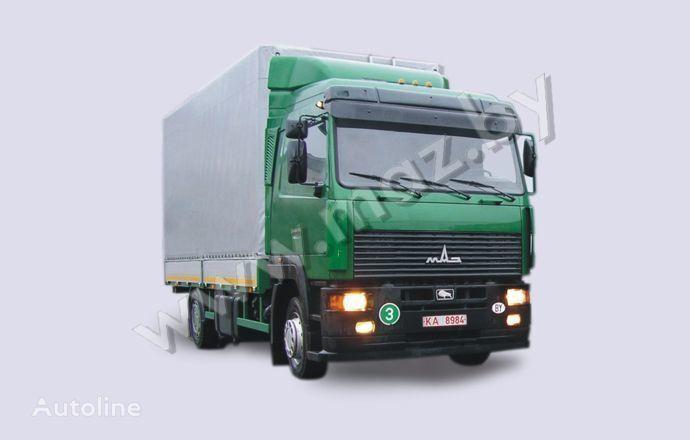 naujas tentinis sunkvežimis MAZ 5340A8