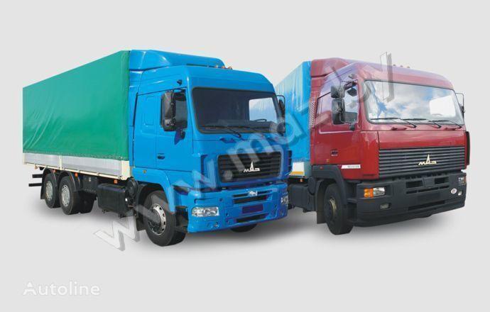 naujas tentinis sunkvežimis MAZ 6312 (A5, A8, A9)