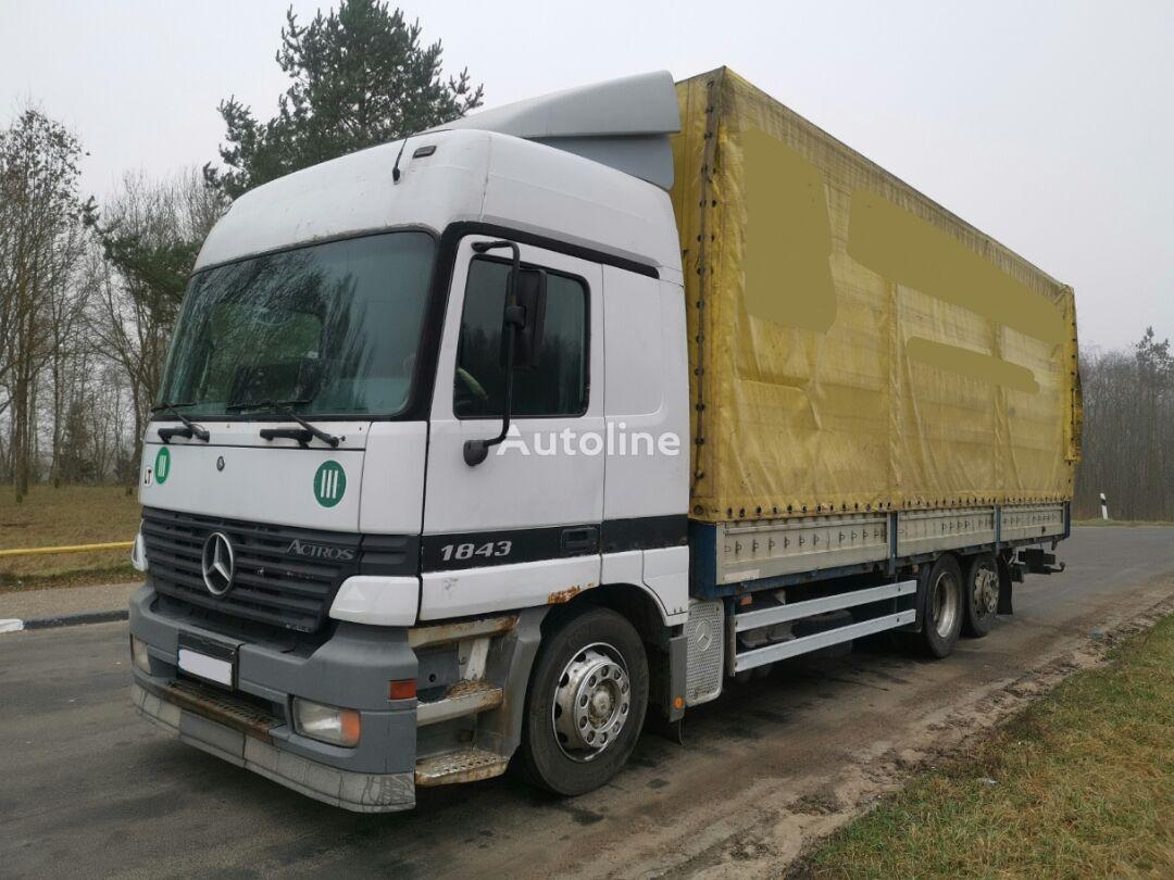 tentinis sunkvežimis MERCEDES-BENZ 2543