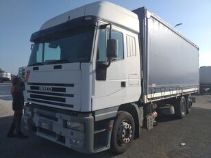 užuolaidinis sunkvežimis IVECO EUROSTAR 240E47 Y/PS