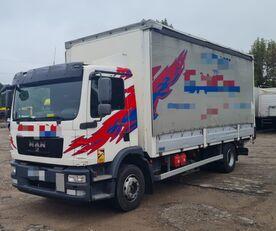 užuolaidinis sunkvežimis MAN TGM 15.250 from FR, 214000 km