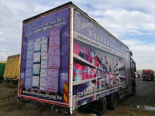 užuolaidinis sunkvežimis SCHWARZMÜLLER LBA ROLÓPONYVÁS FELÉPÍTMÉNY